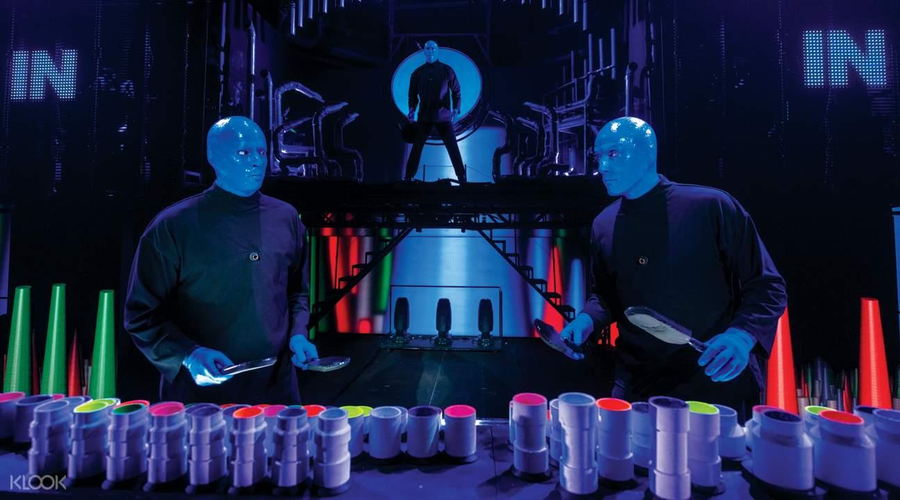 拉斯維加斯 「藍人樂團」演出票