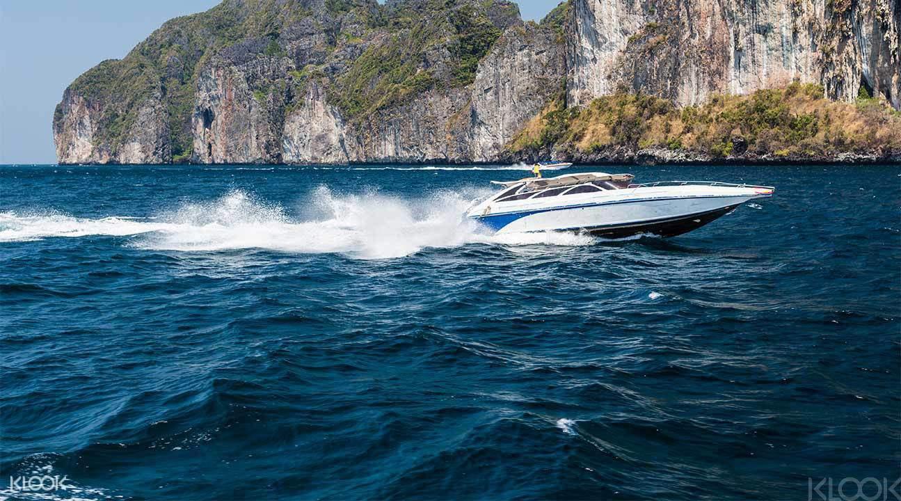 Speed boat transfers from Phuket to Koh Lipe