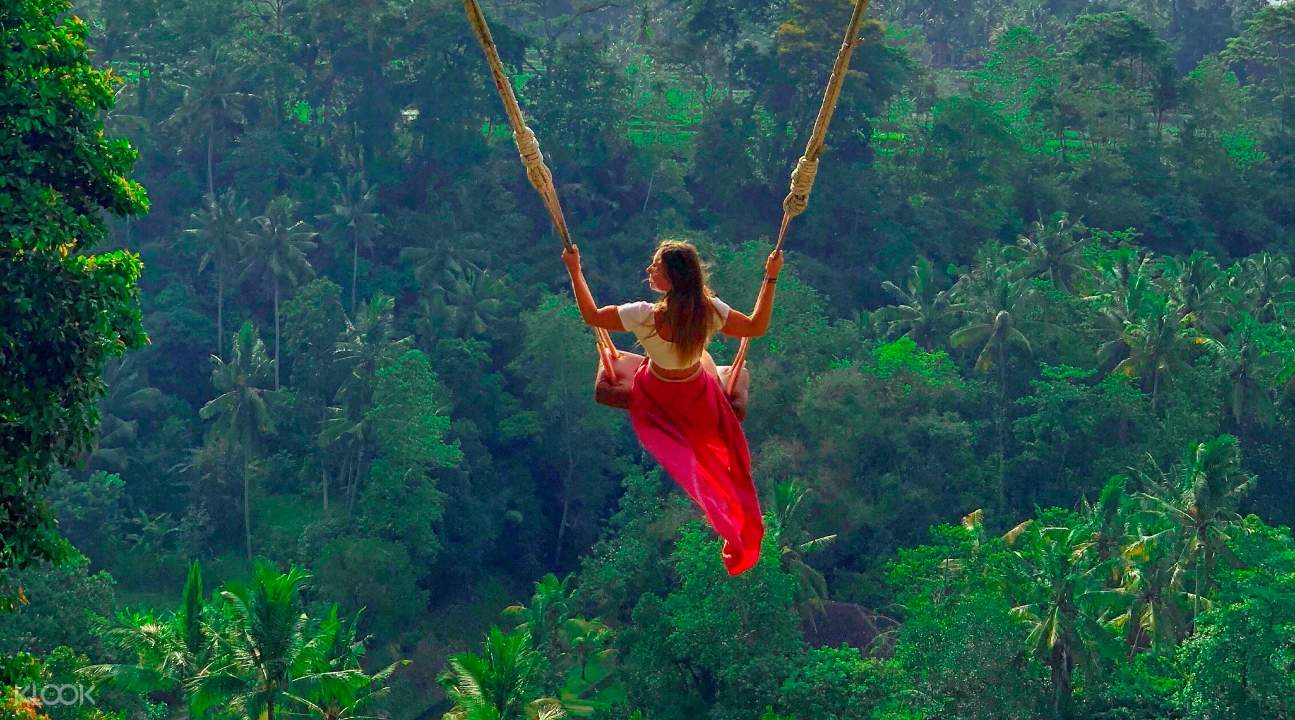 Bali Swing And Ayung River Rafting Adventure