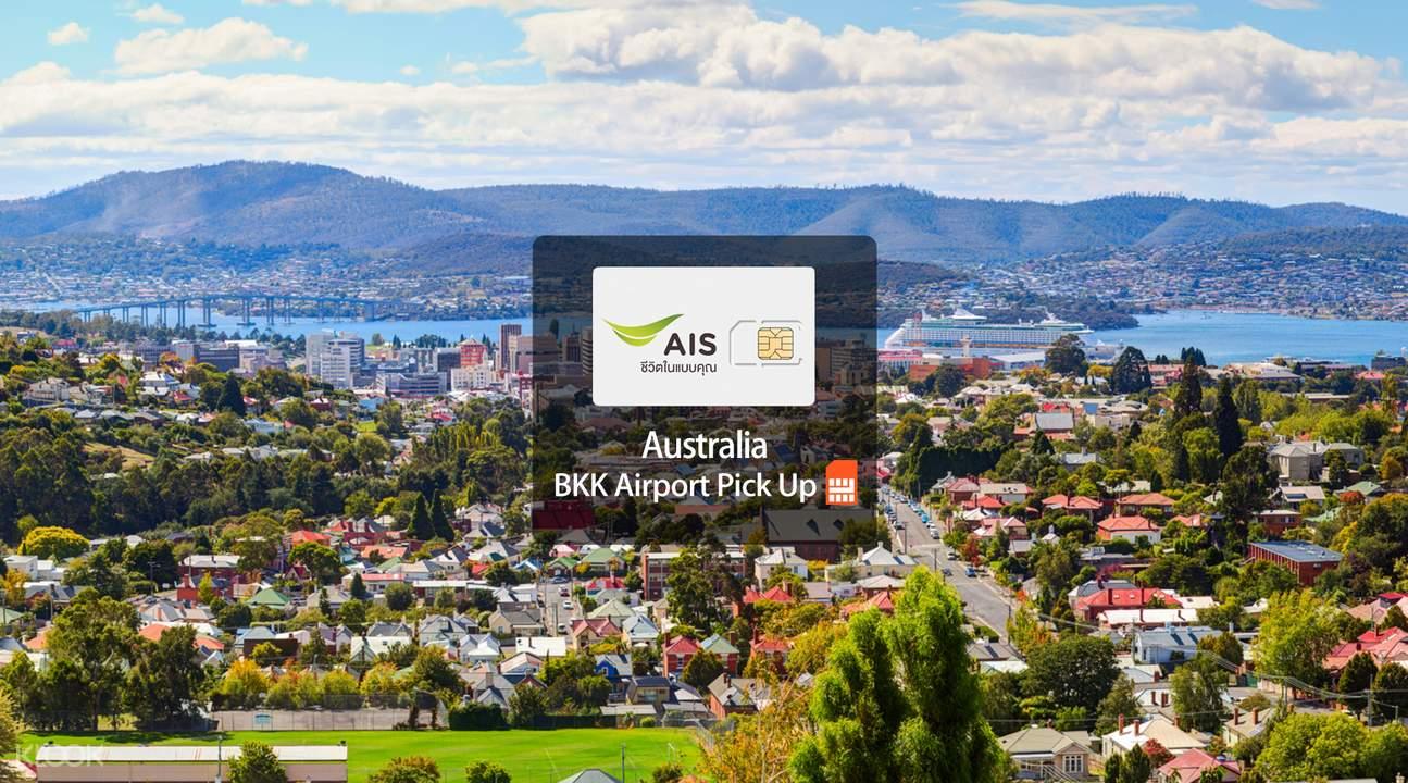 ais 4G SIM bangkok airport australia