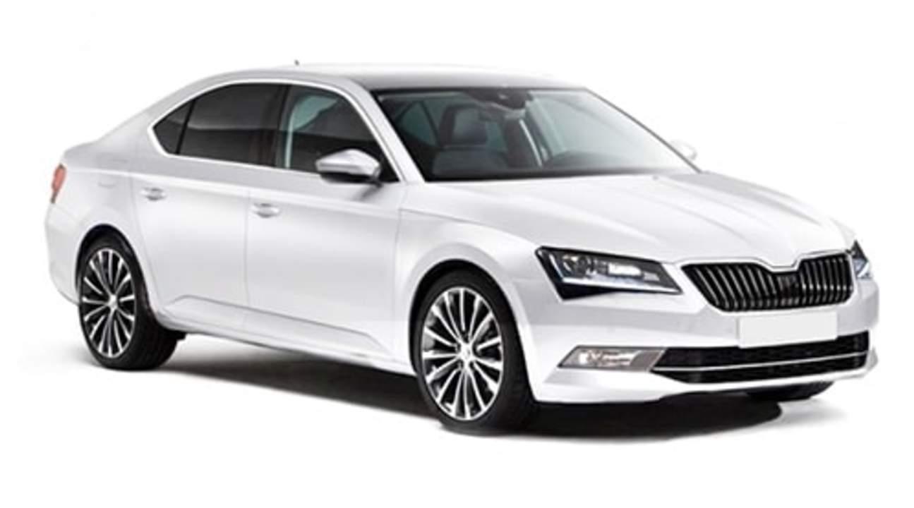 white sedan for copenhagen airport transfer