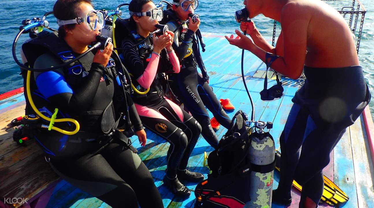 垦丁平台式潜水