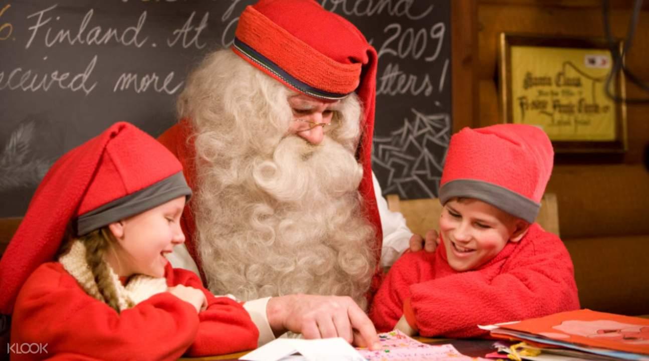 Helsinki Meet Santa Claus at the Arctic Circle