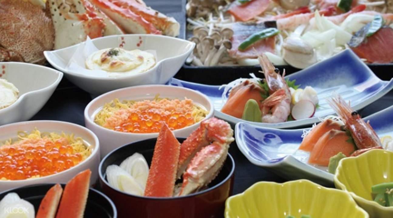 北海道Oreno札幌本店 螃蟹晚餐