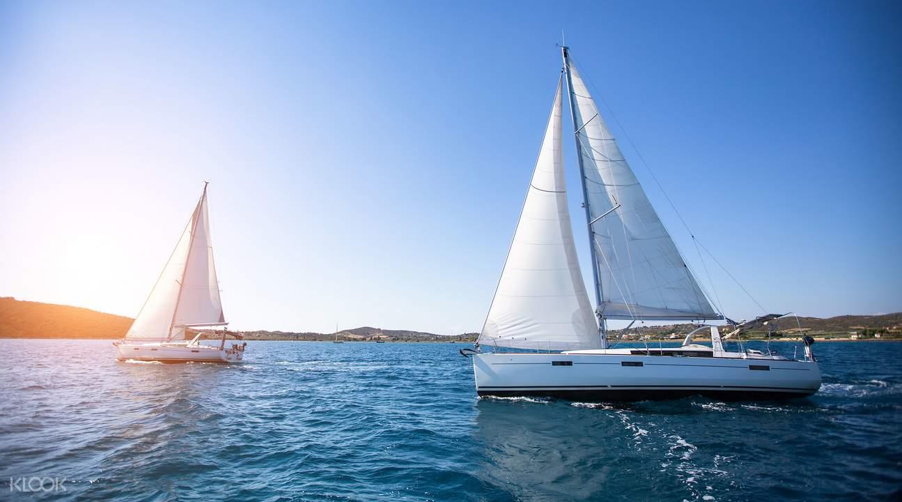 澎湖帆船体验