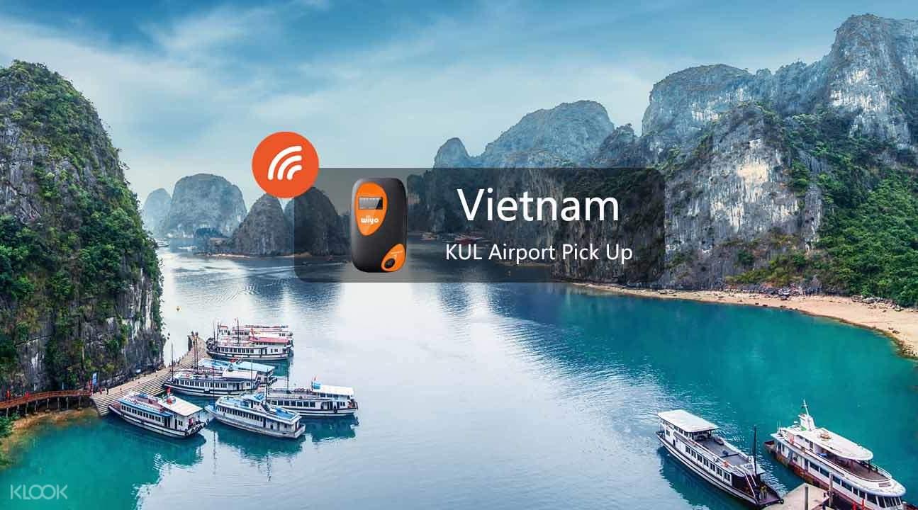 越南3GWiFi租賃