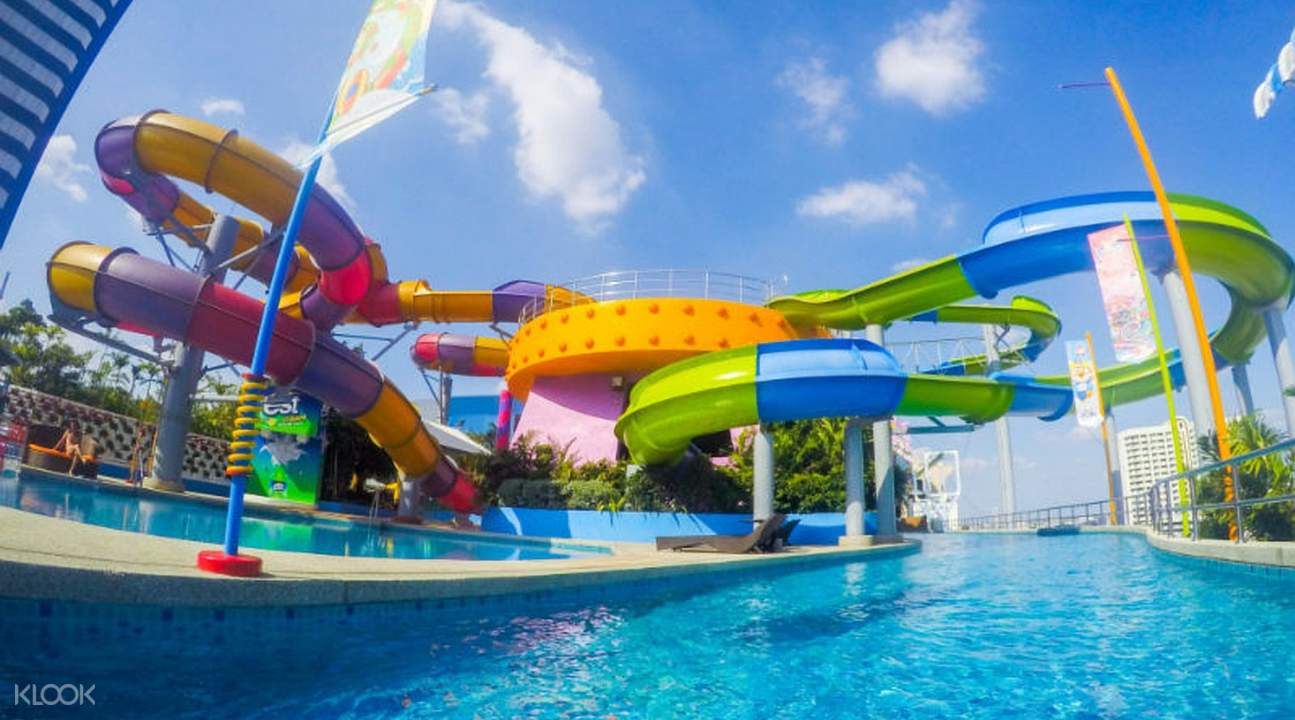 Pororo AquaPark Bangkok in Thailand