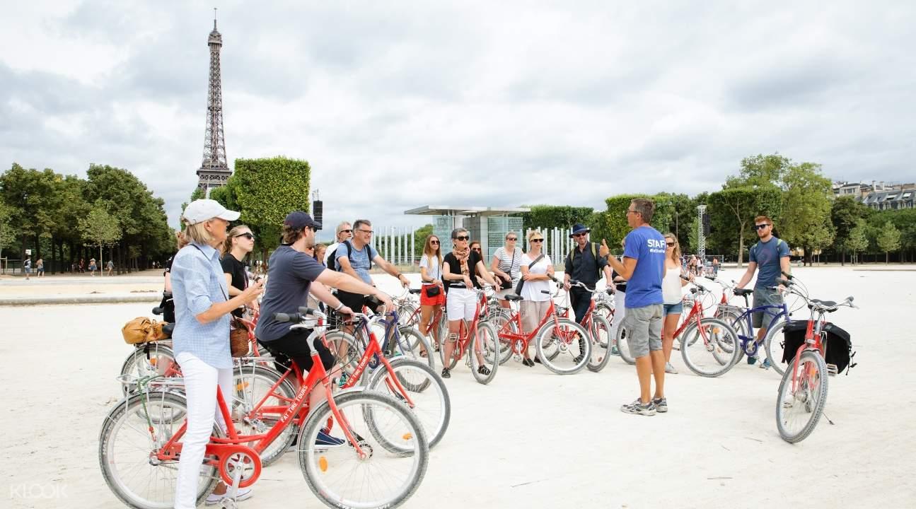 半日巴黎騎單車