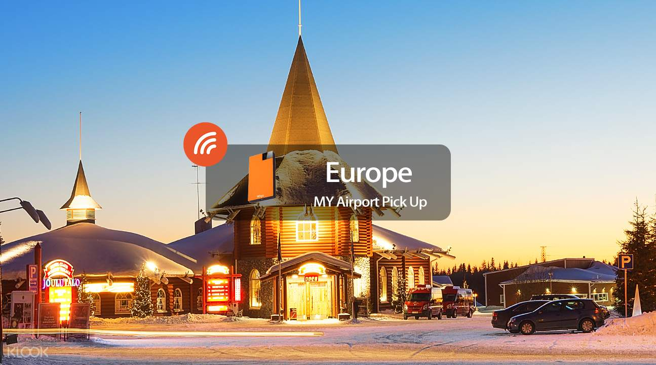 4G Pocket WiFi (KUL Airport Pick Up) for Europe from Wiyo