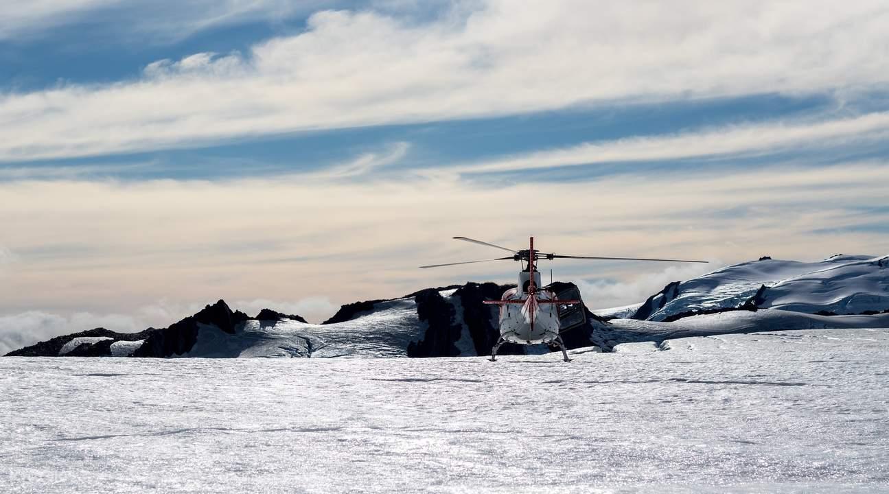 勃朗峰直升机观光