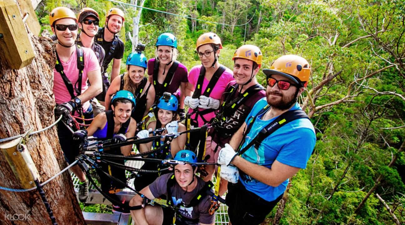 澳洲丛林飞跃体验