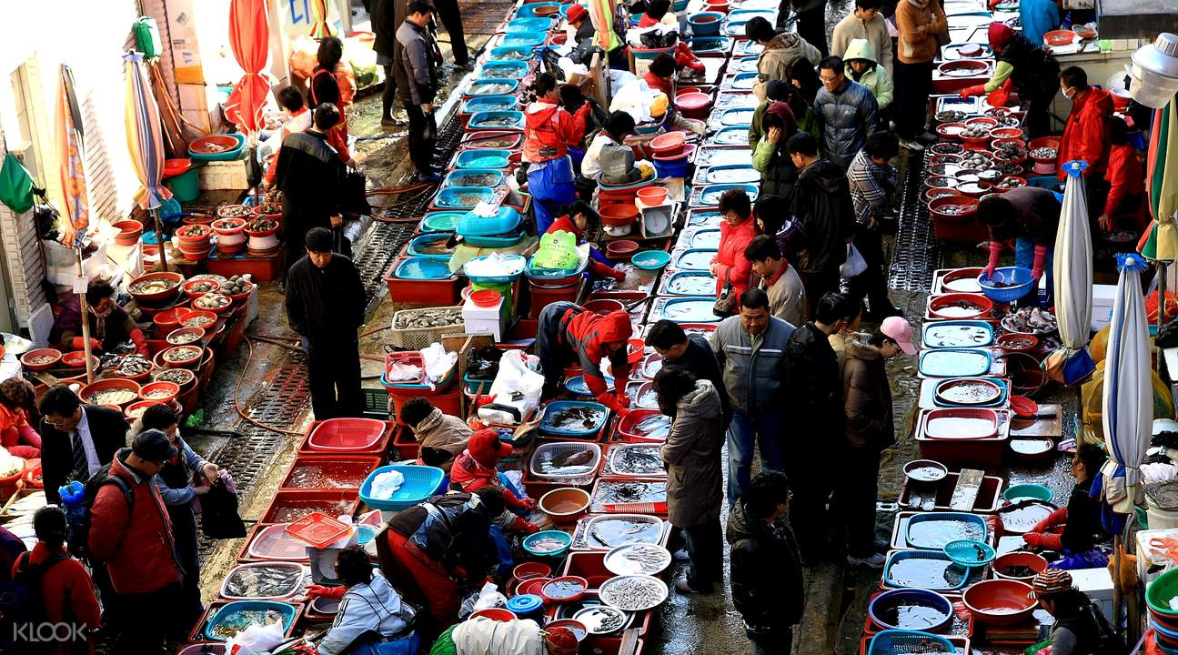 Tongyeong Jungang Market