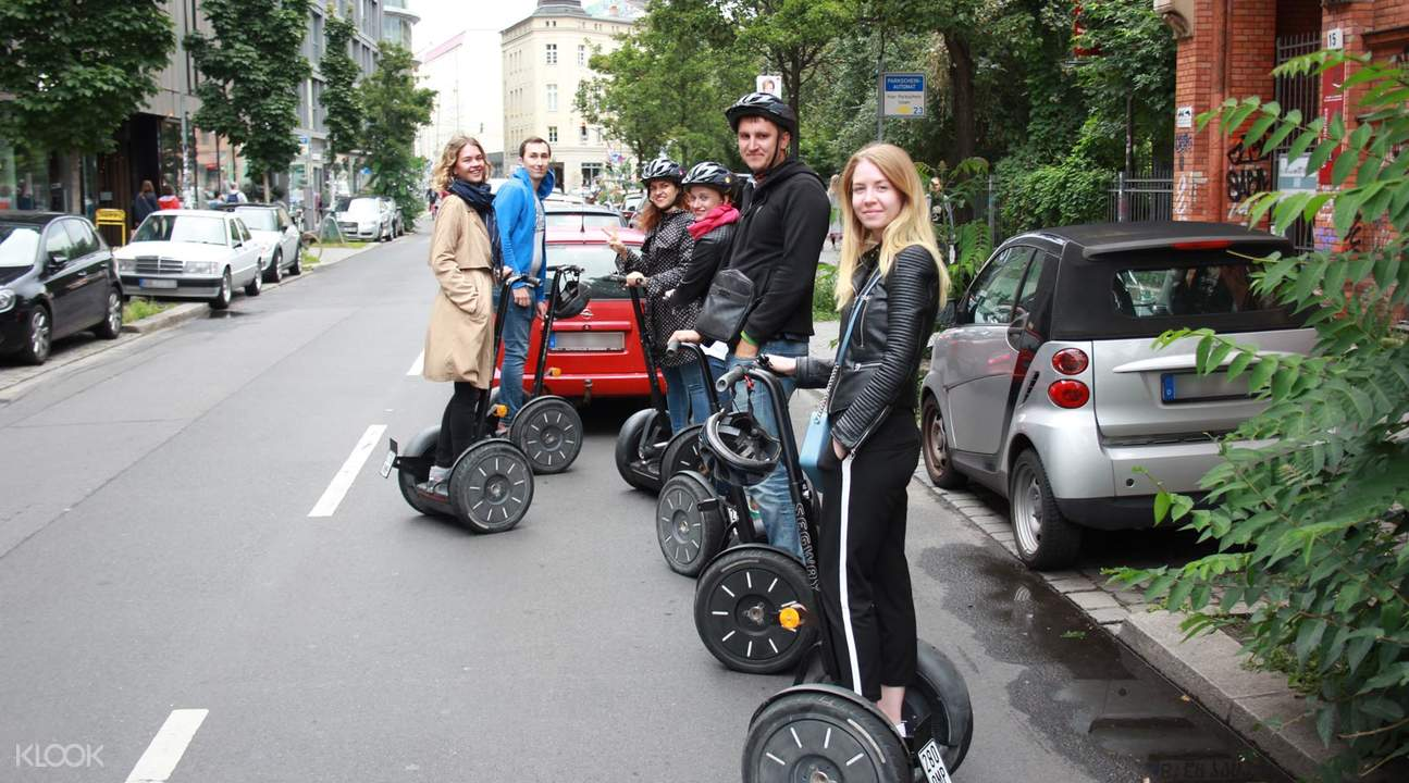 berlin two hours segway tour