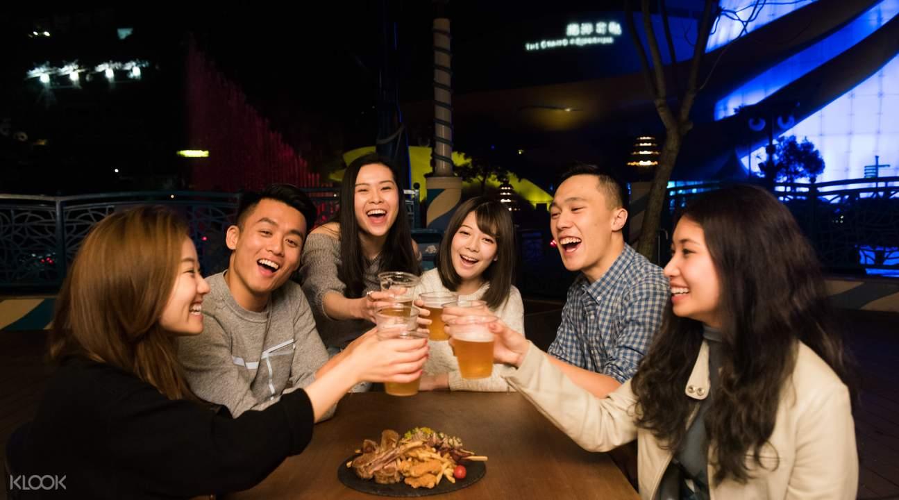 香港海洋公園全新夜場盛會