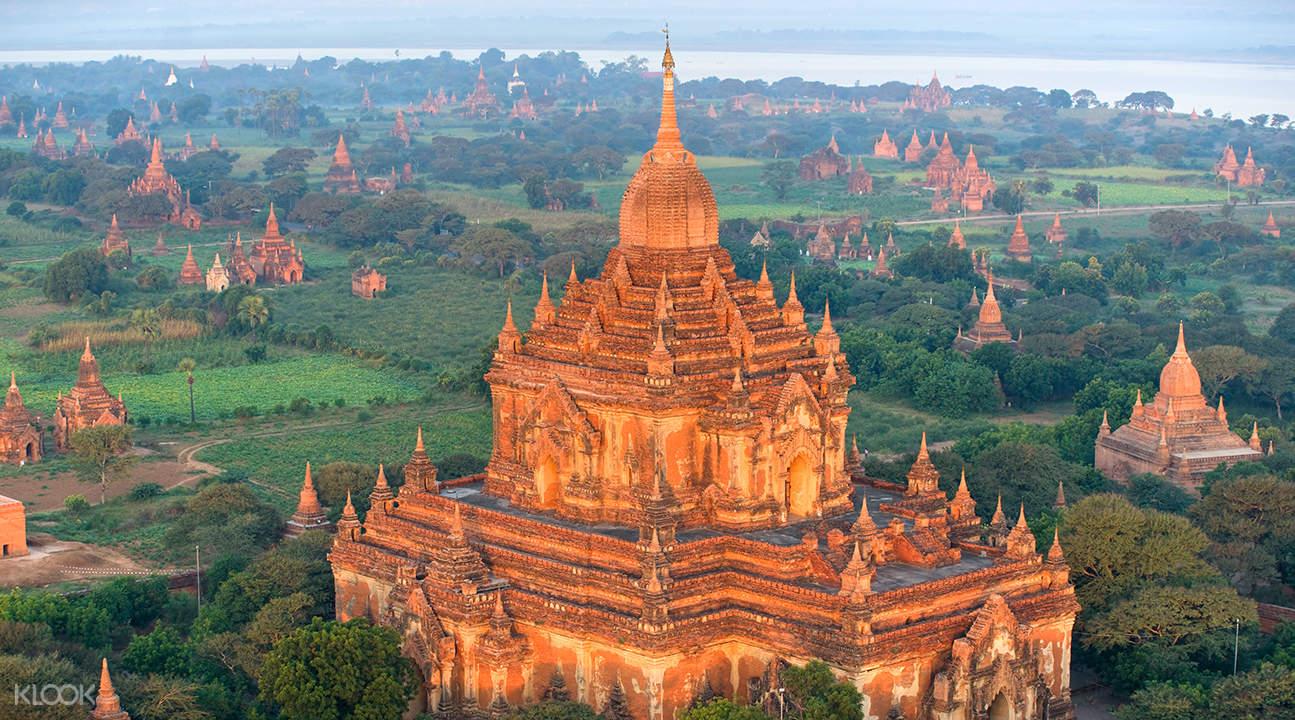 蒲甘寺庙探寻