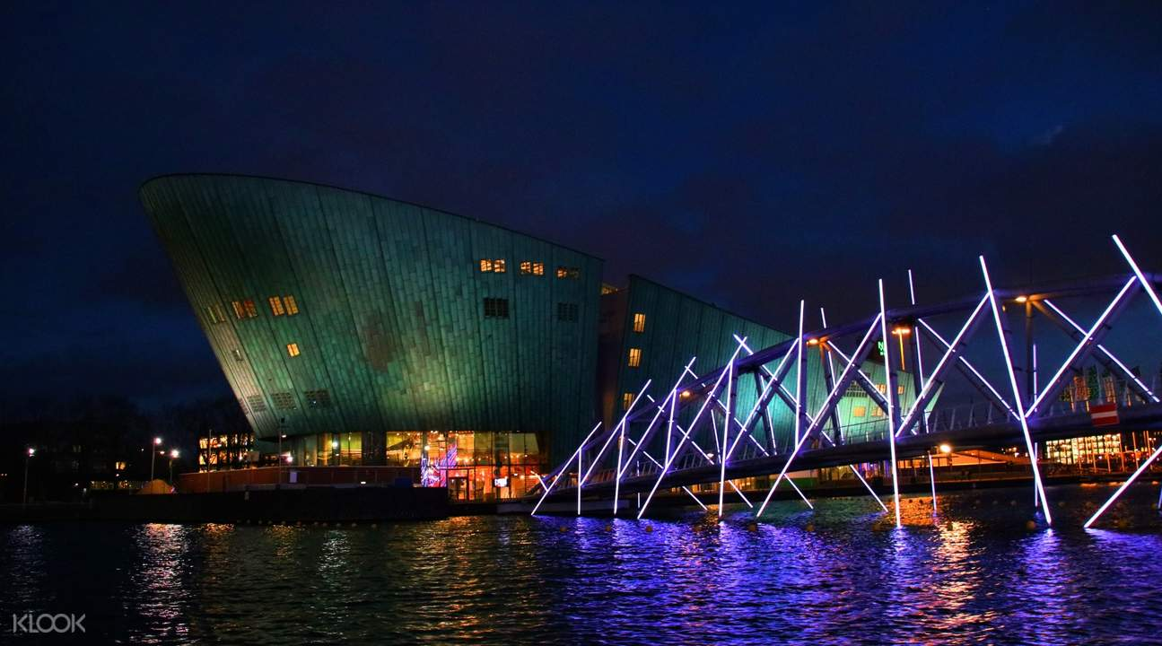 Amsterdam Light Festival Small Boat Canal Cruise Tour Klook