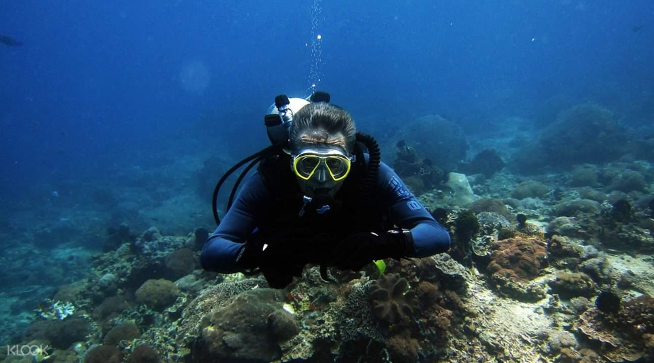 丹兑海底探索