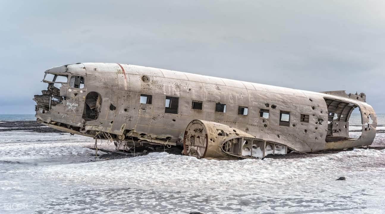 冰島南岸一日遊—DC3飞机残骸