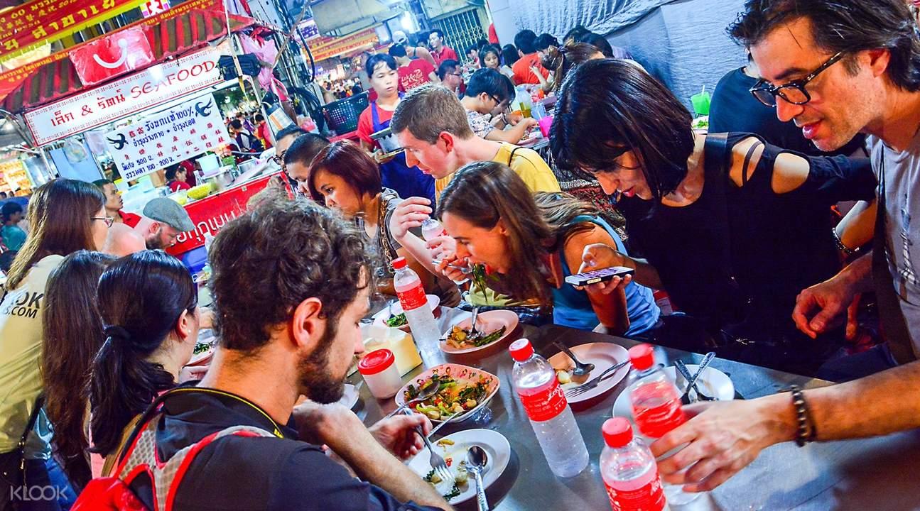 Yaowarat Street Food Tour Bangkok Thailand