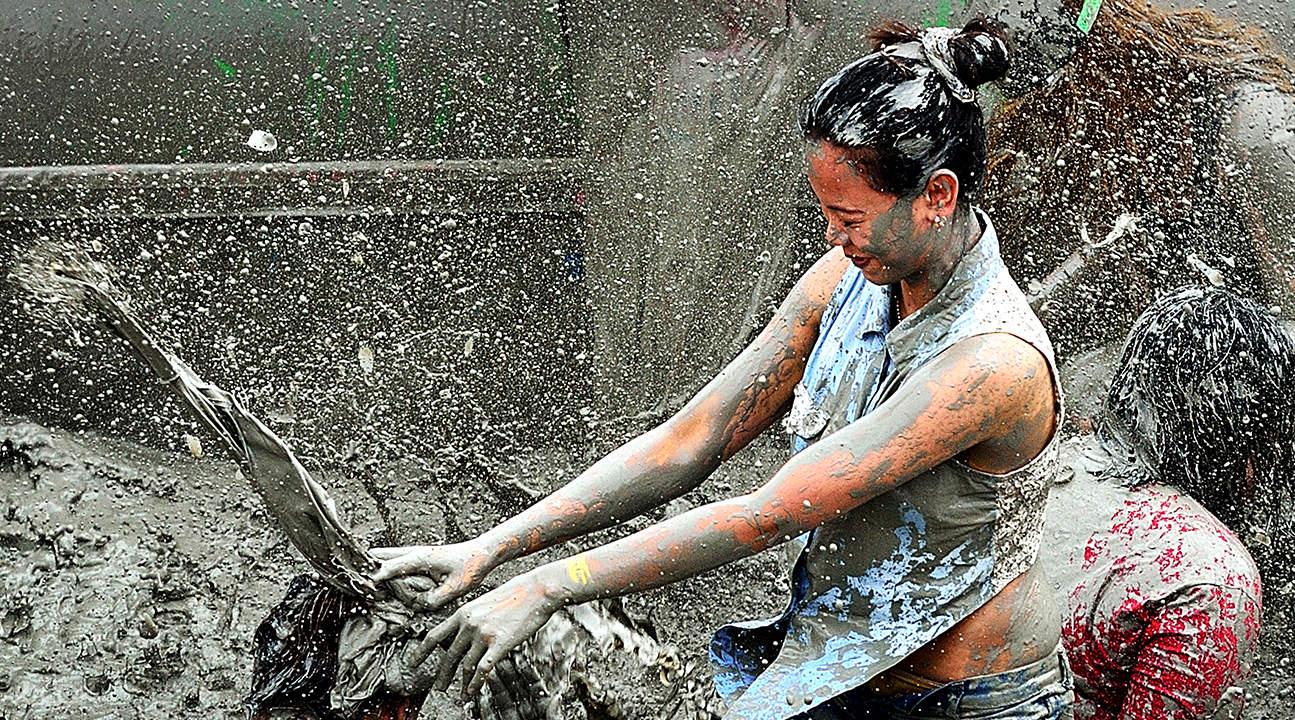 保宁美容泥浆节