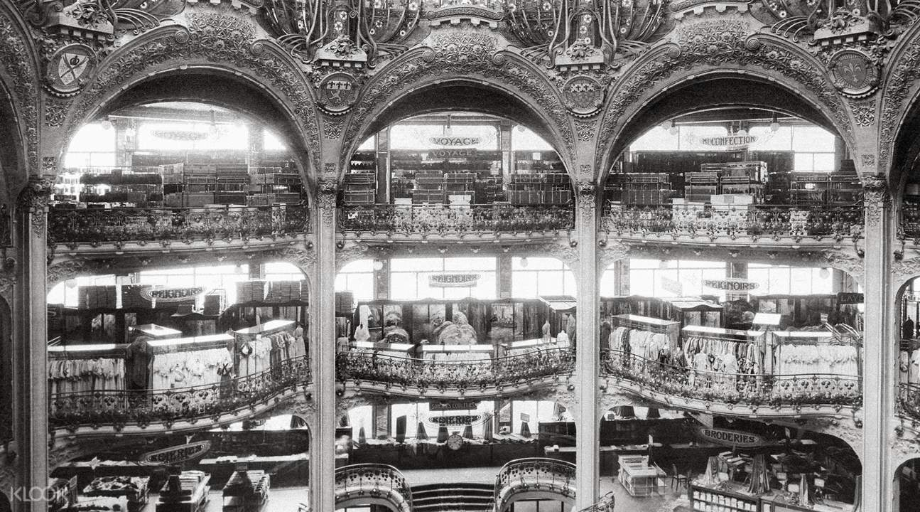 galeries lafayette history