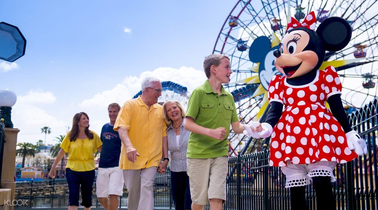 加州迪士尼樂園門票
