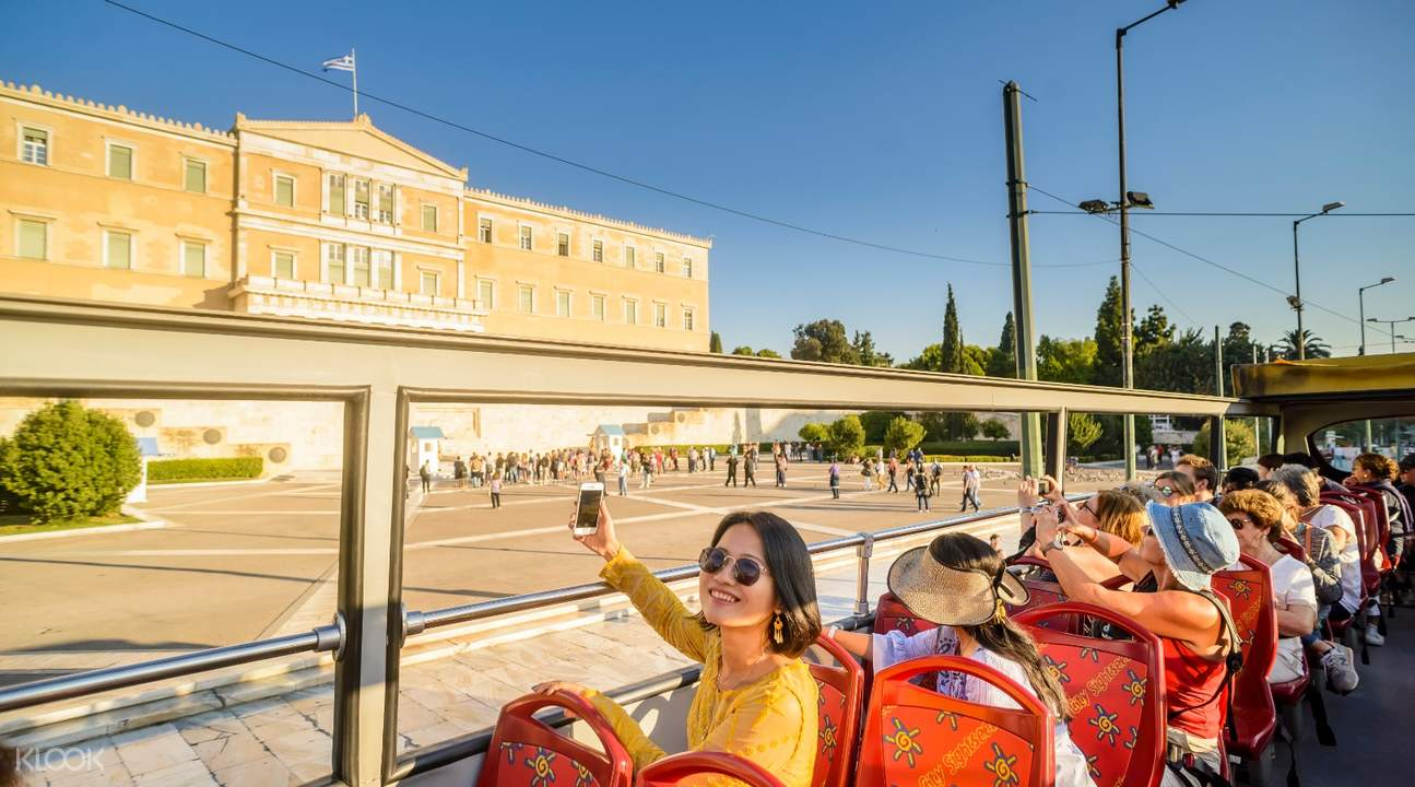 athens hop off hop on sightseeing bus tour