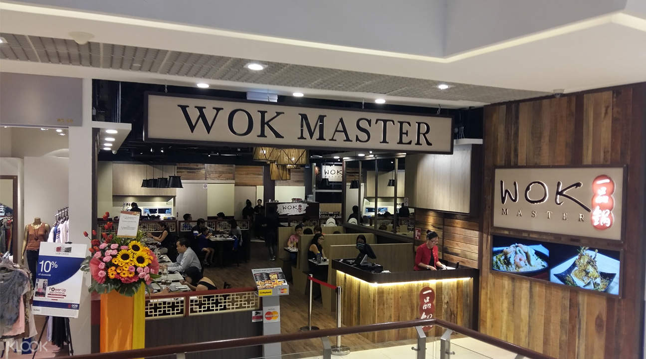 klook discount wok master jurong east singapore