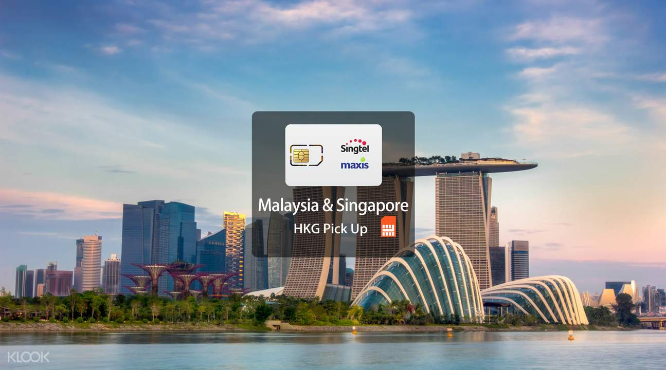 Singapore and Malaysia 4G SIM card