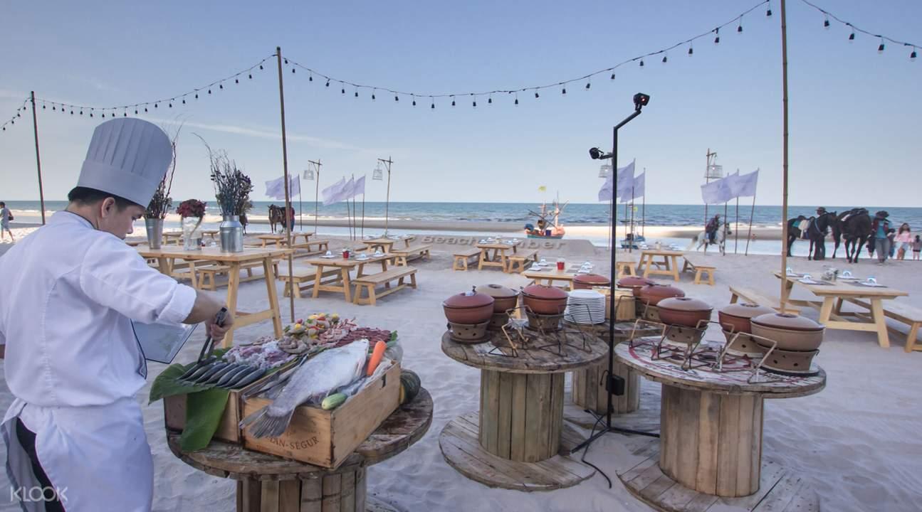 華欣洲際度假酒店BeachComber BBQ