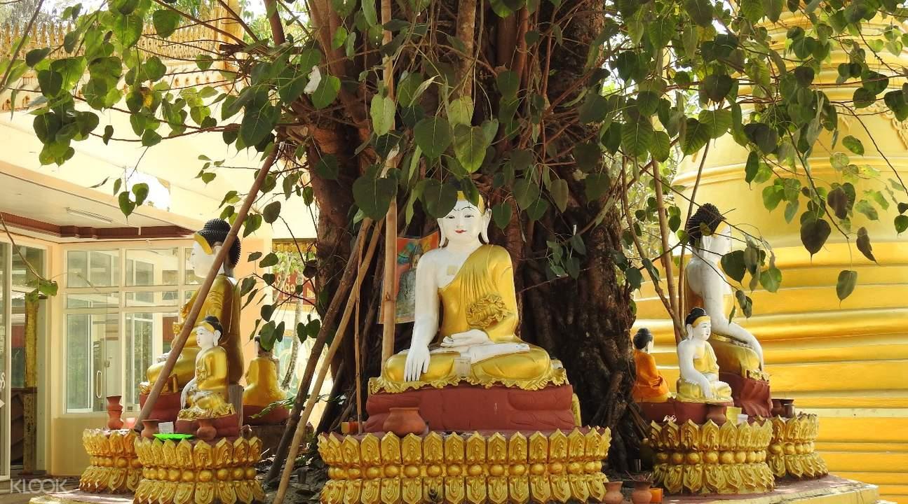 Hmwe Paya (Snake Temple) Twante Private Day Tour from Yangon, Myanmar