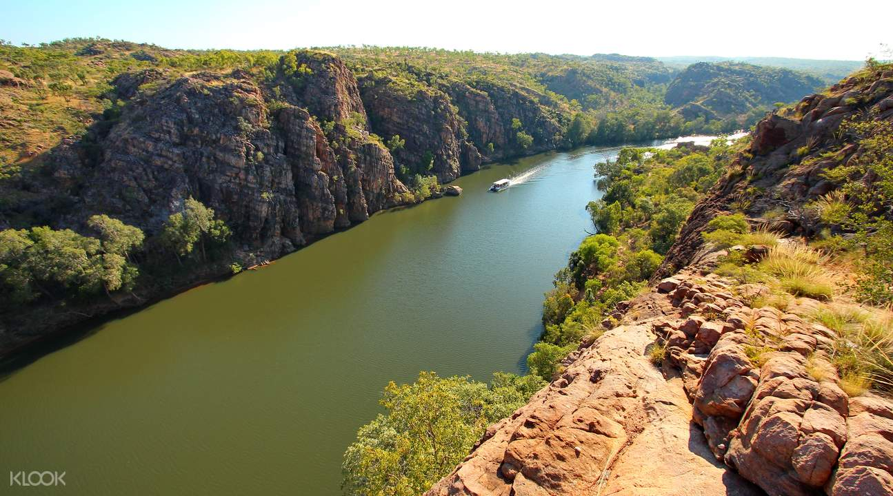 katherine gorge cruise and edith falls