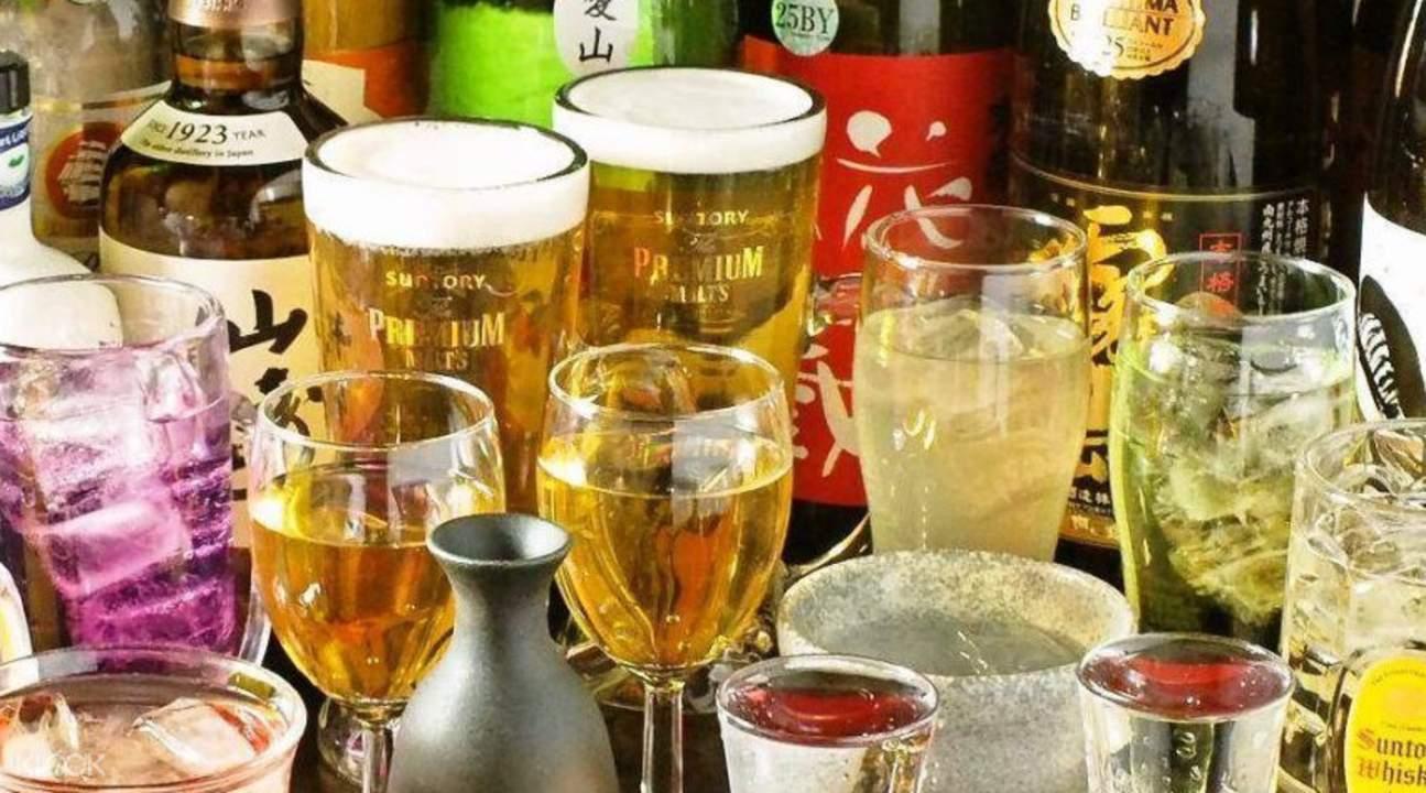 Hokkaido Shiretoko Gyojo in Osaka Japan beer
