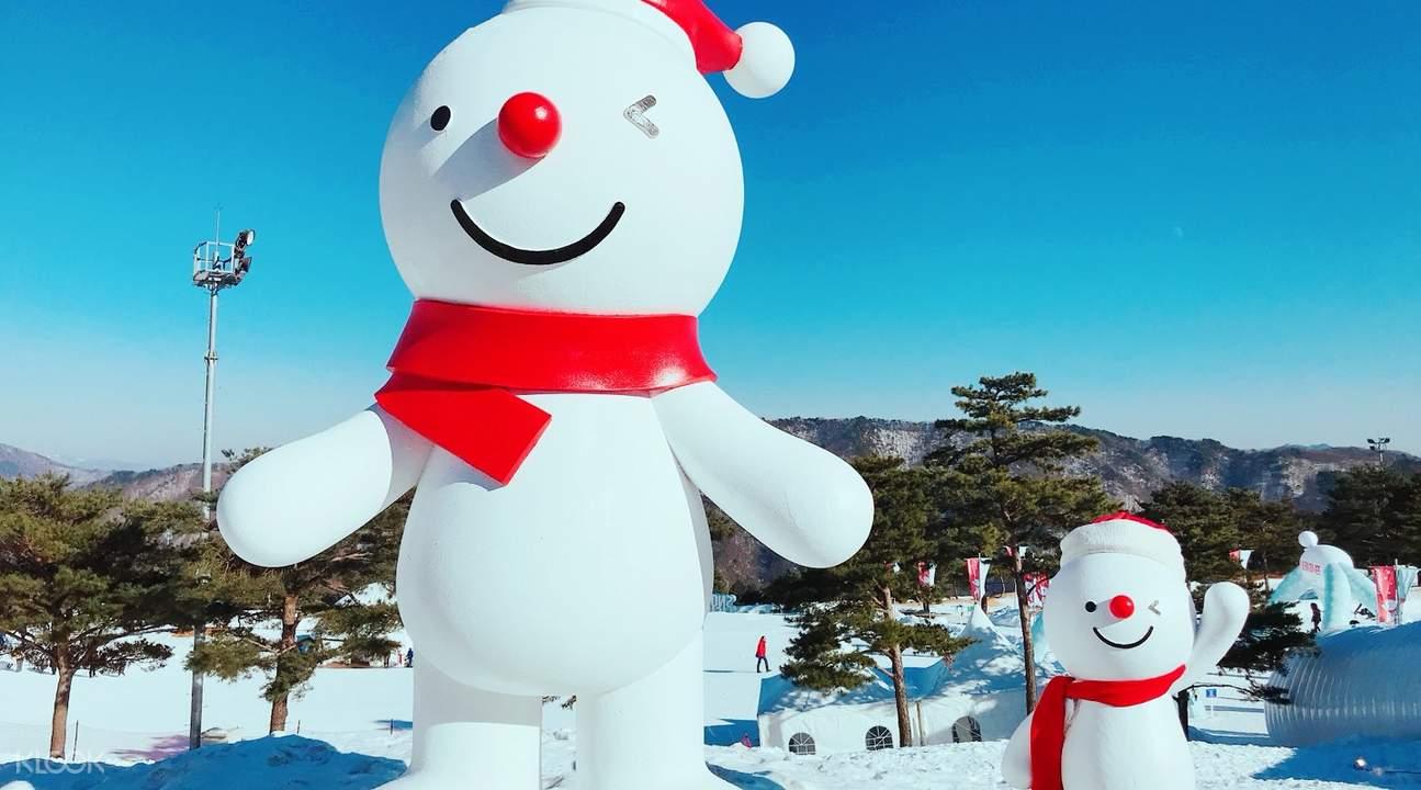 snowmen vivaldi park ski world