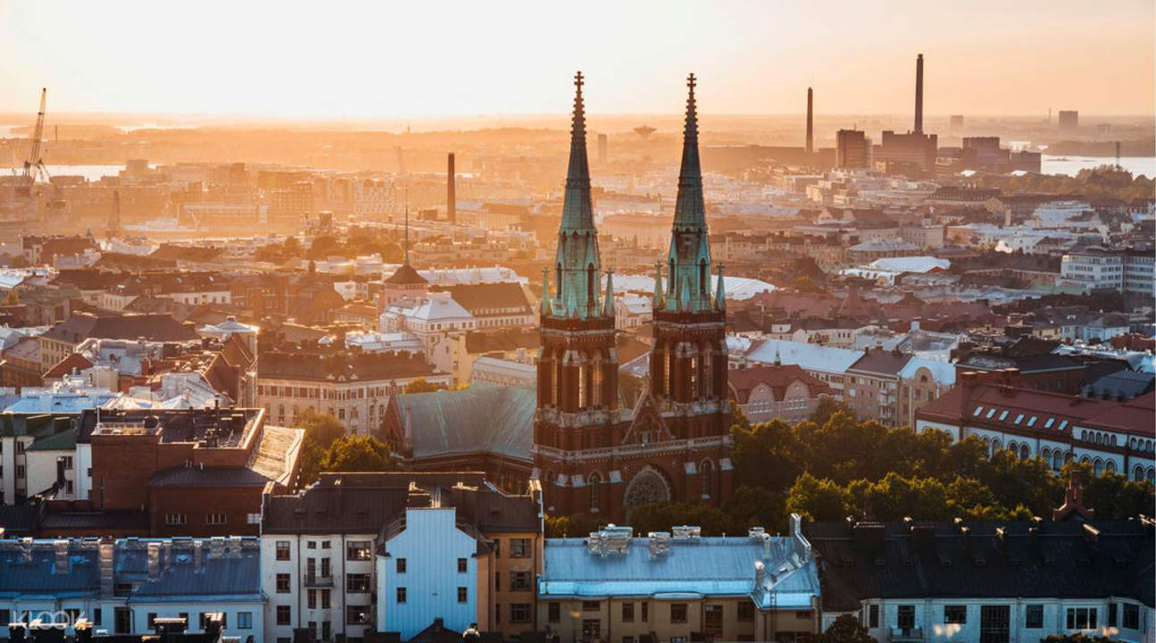 helsinki's highlights half day tour