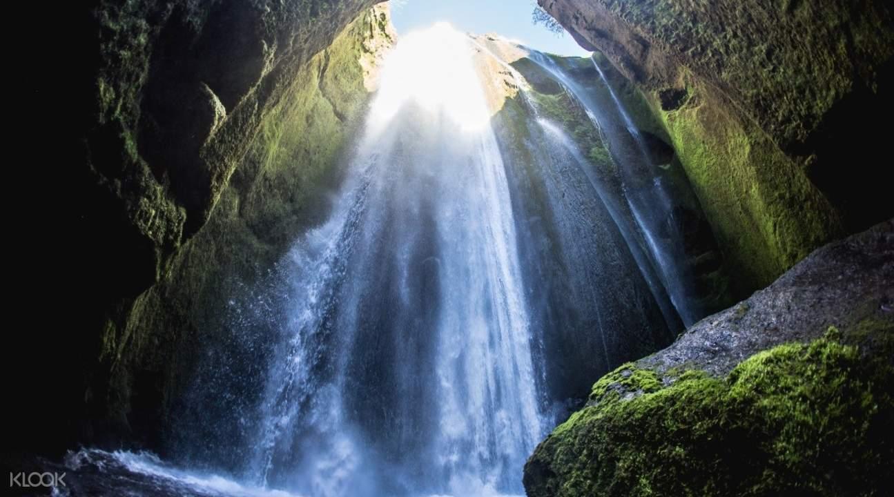 冰岛南岸观光-斯科加瀑布