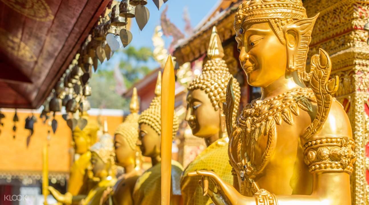 清邁寺廟之旅