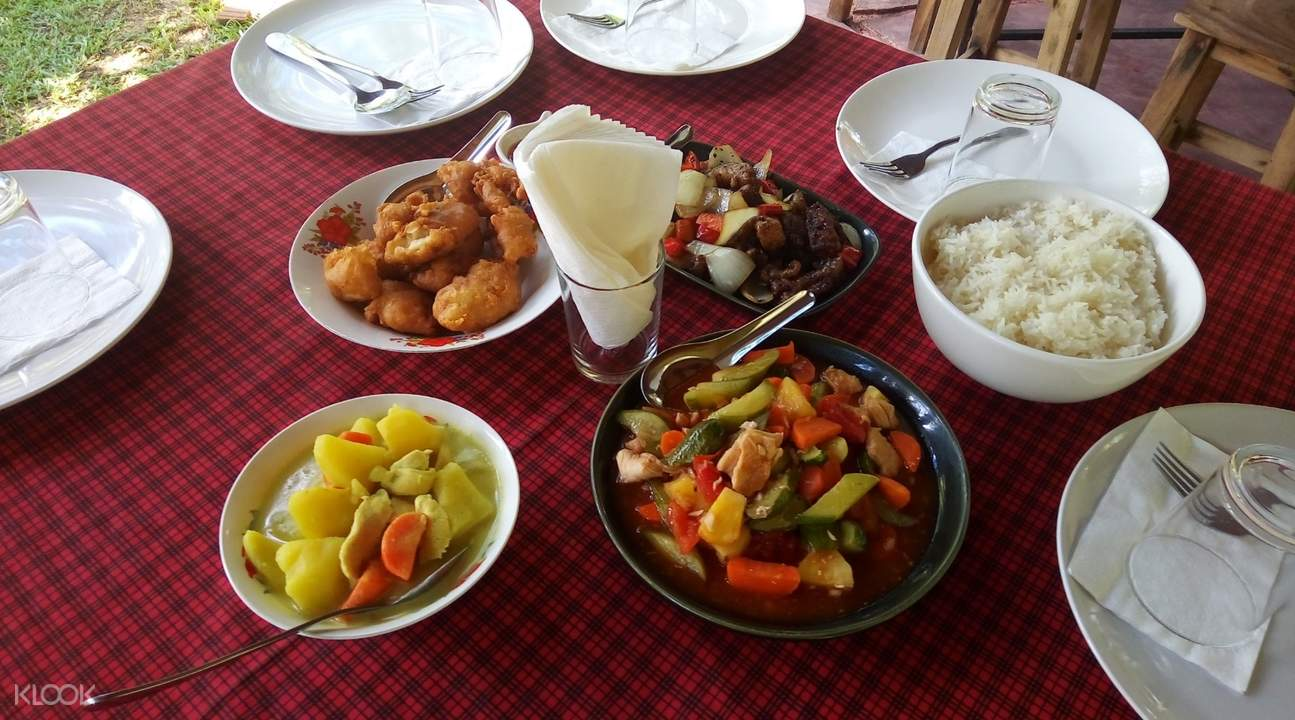 Khao Sok Discovery restaurant lunch