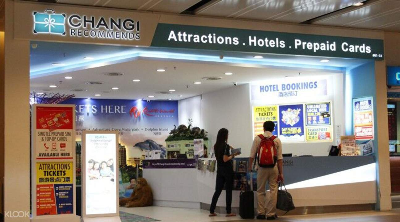 Changi Recommends storefront in Changi Airport
