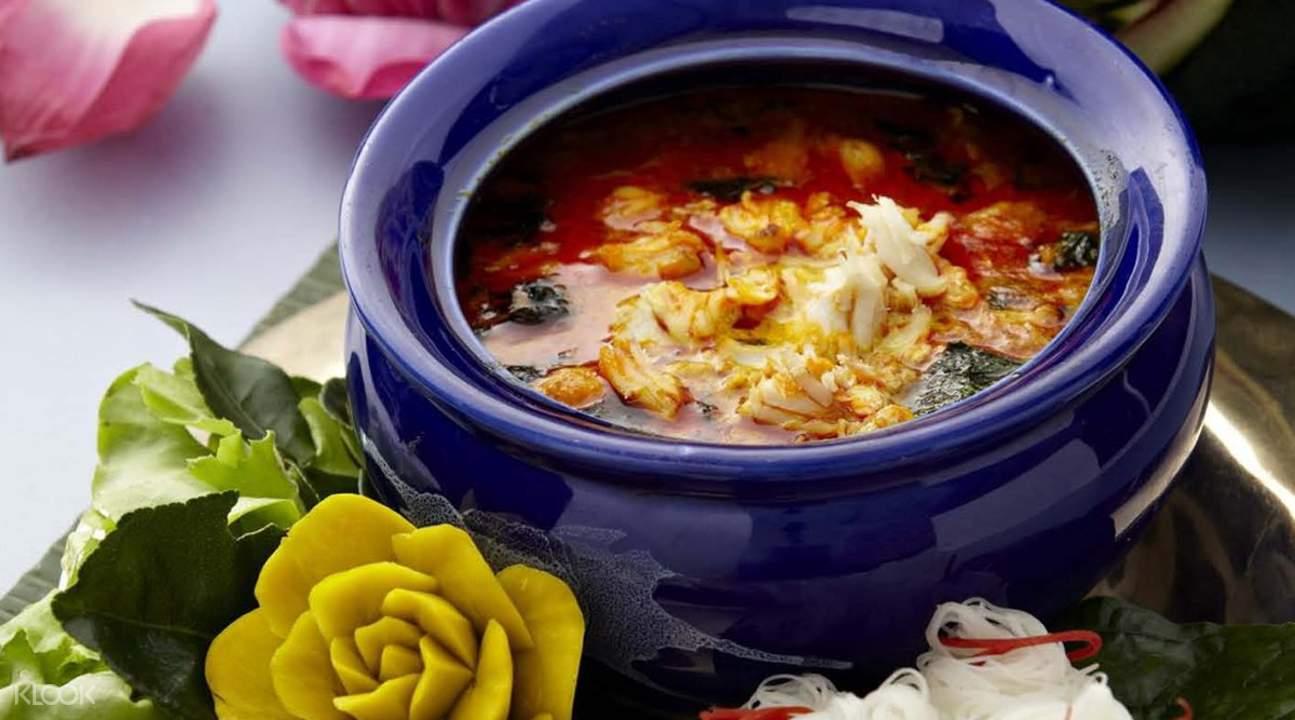 authentic thai dish