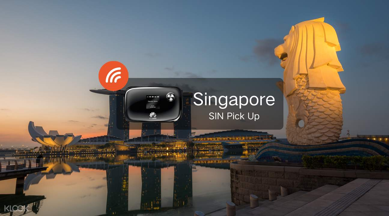 pocket wifi connection signal in Singapore