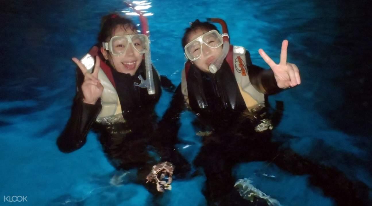 沖繩青之洞窟潛水