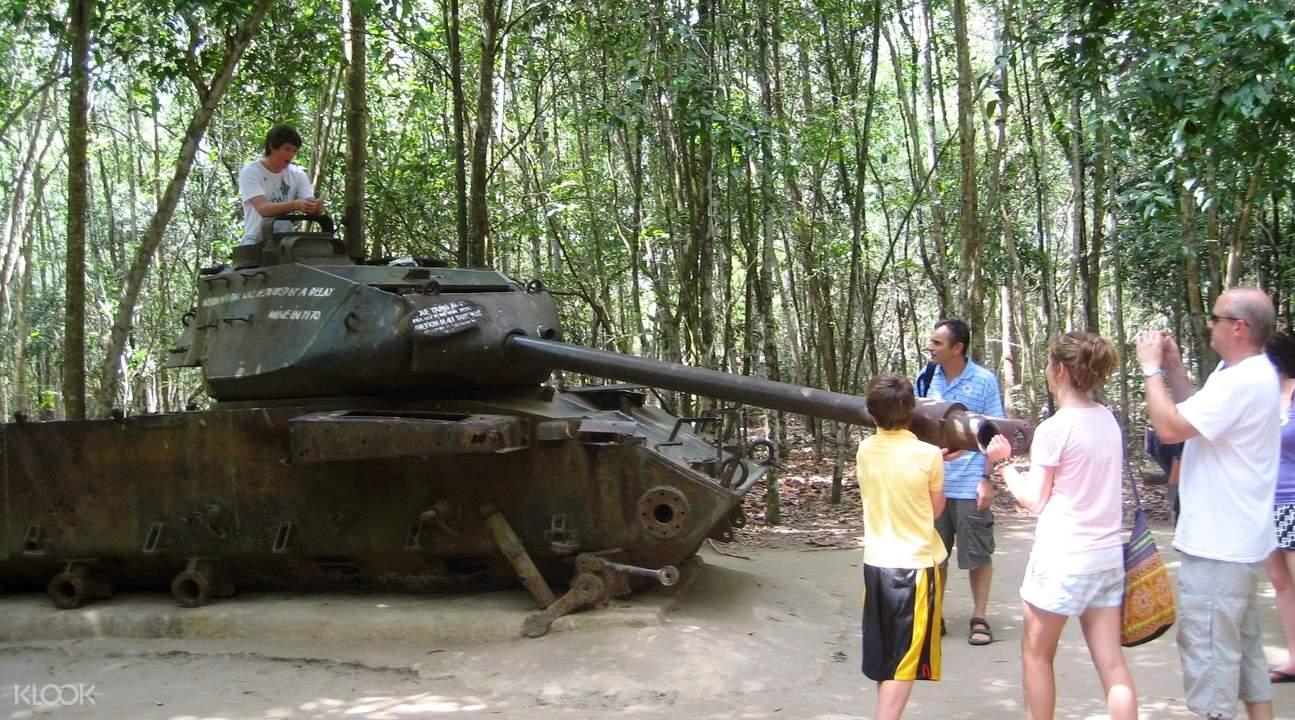 越南古芝地道半日遊