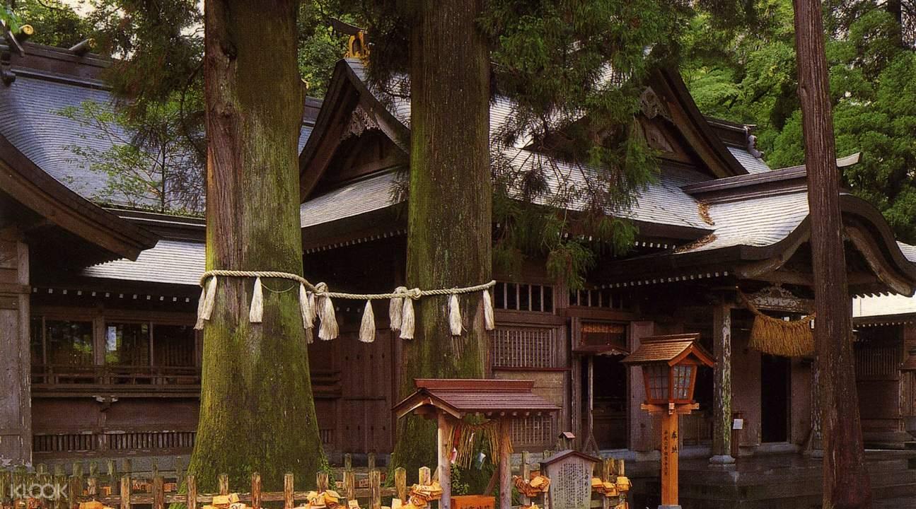 Takachiho shrine tour