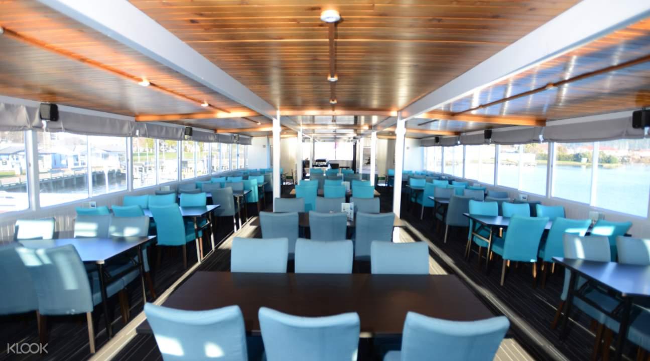 Interior of Lakeland Queen Cruise