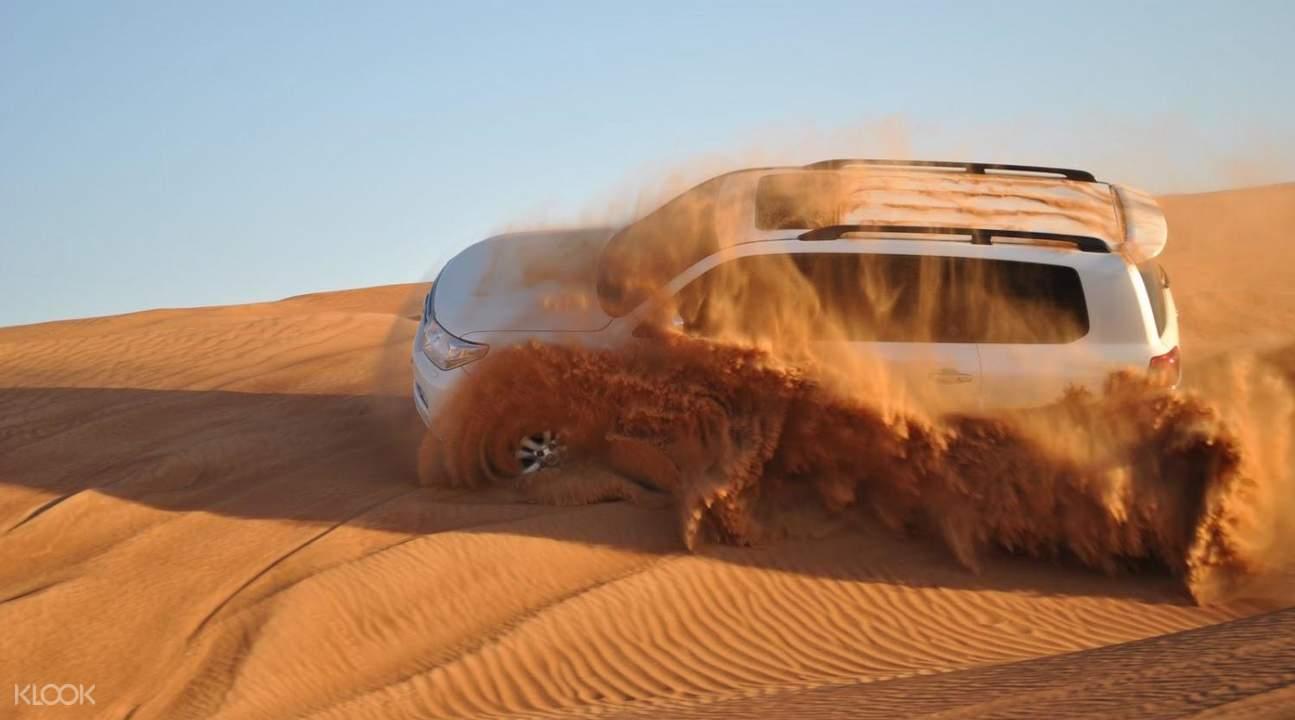 dubai desert safari 4x4 dune bash