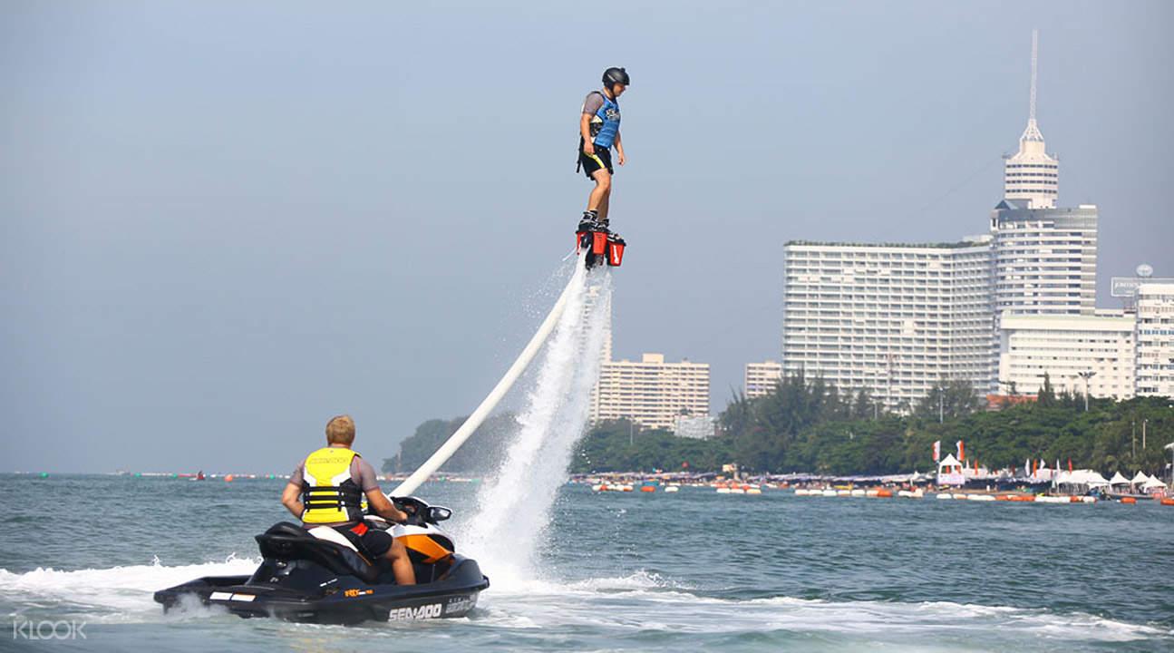 Thailand flyboarding