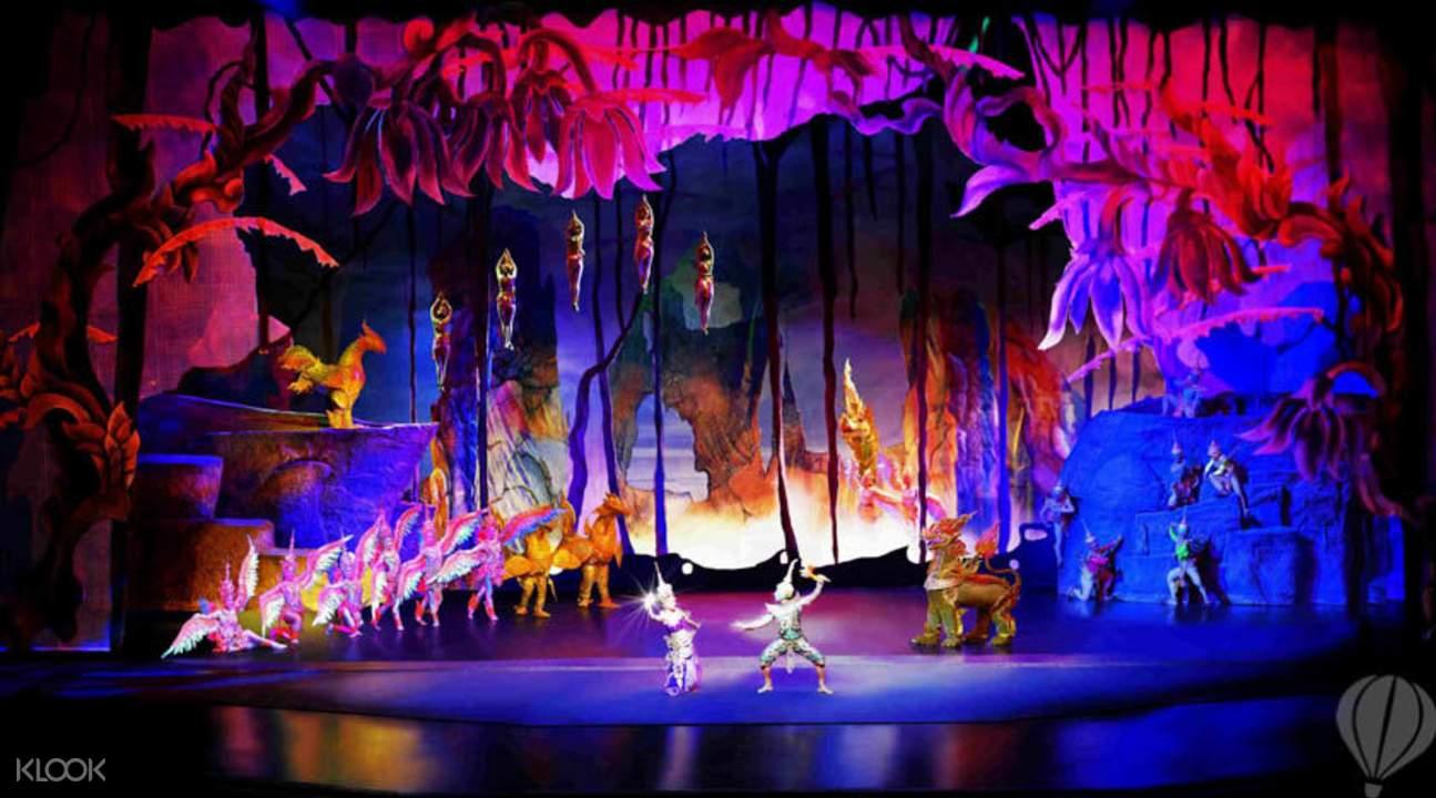 曼谷暹羅天使劇場門票