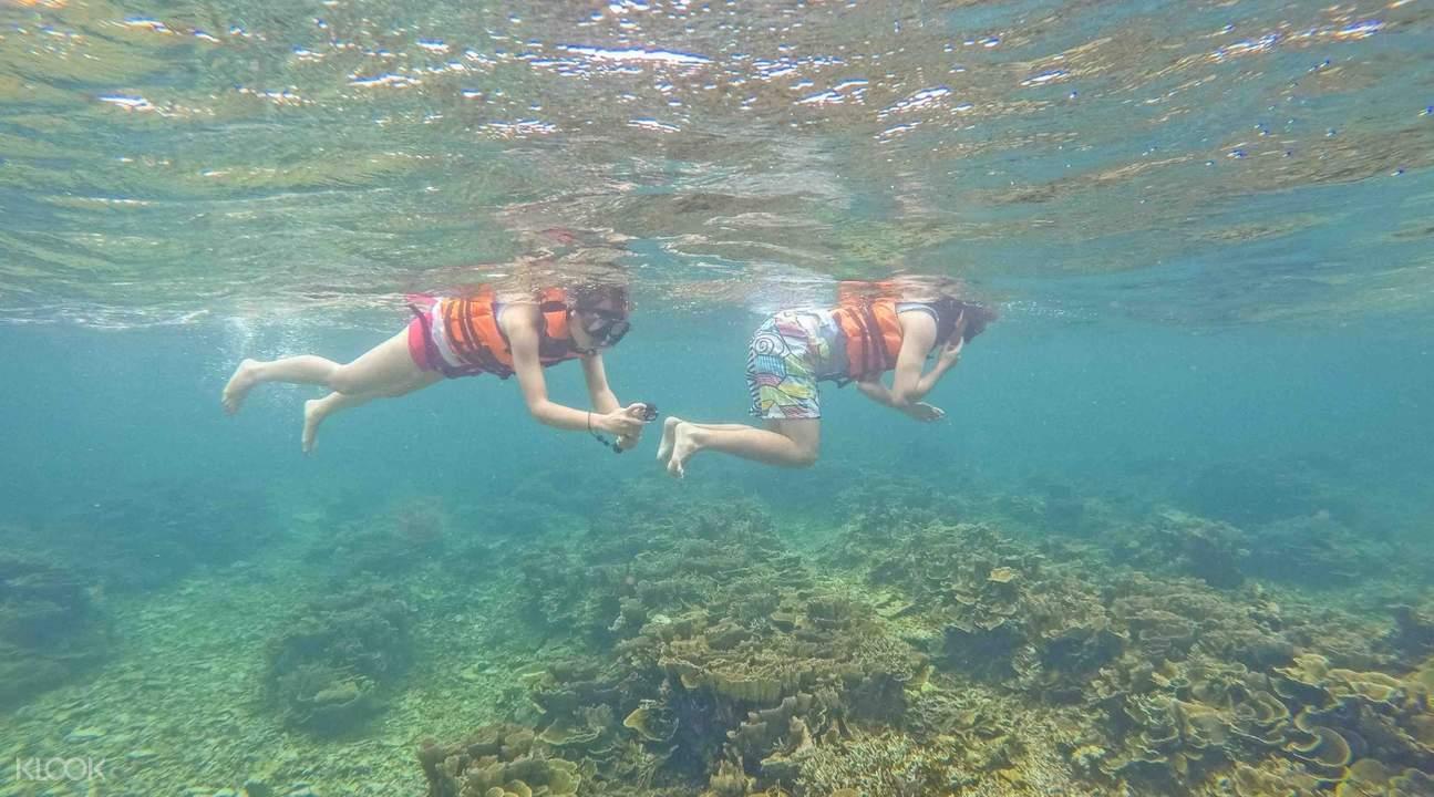 Lặn ống thở ở Mantanani & Đi Thuyền Trên Sông Kawa Kawa