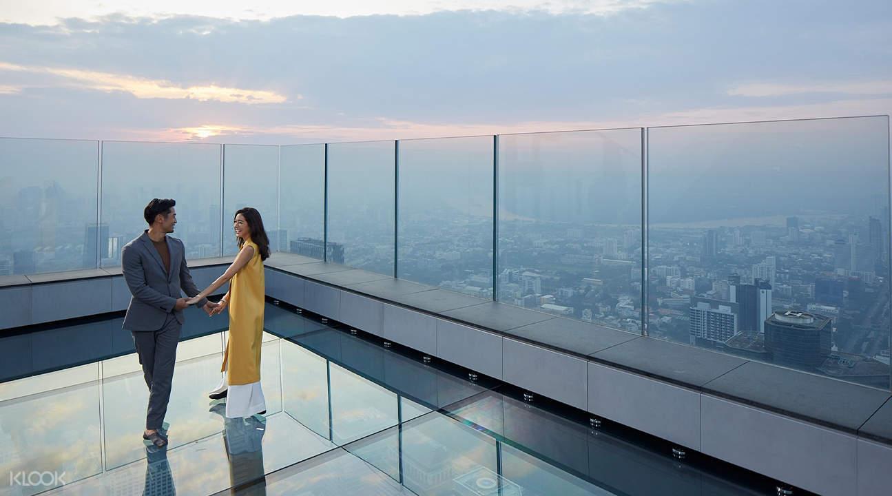 曼谷王權Mahanakhon SkyWalk觀景台門票